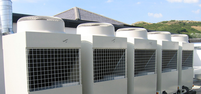 Air conditioning system for big offices