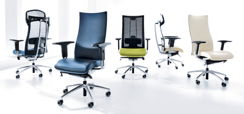 Ergonomic chairs in various styles