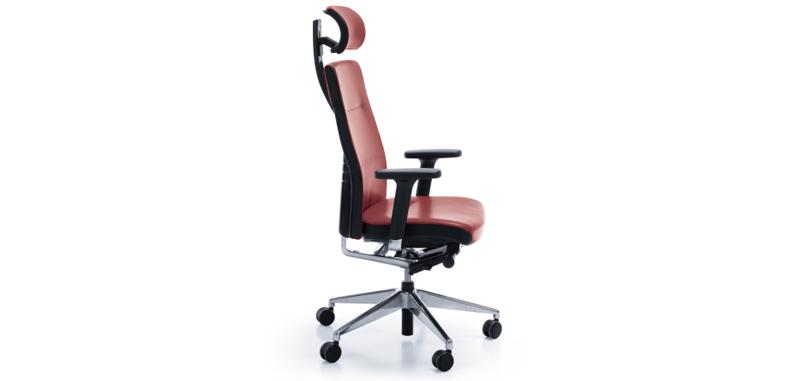 Pink profim veris ergonomic adjustable chair