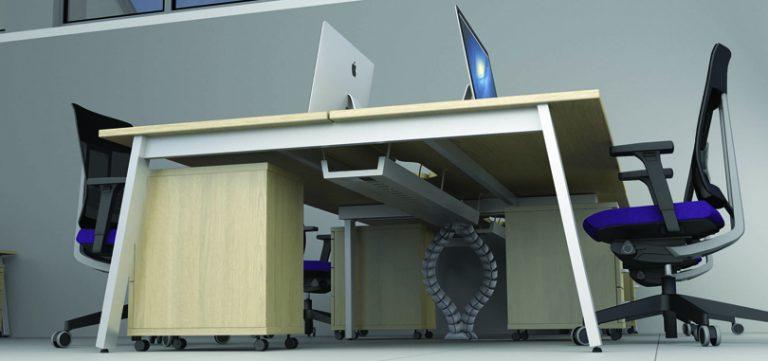 Modular-Desking-beech-desk-underside-view