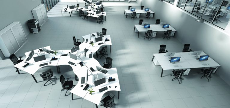 Modular-bench-office-desks-multiple-system