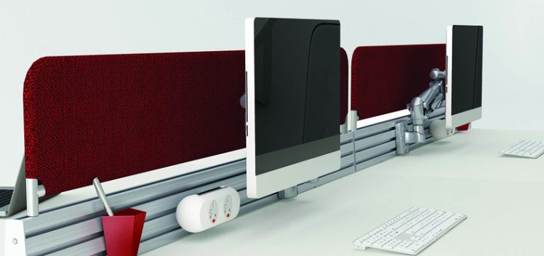 Modular-bench-office-desks-silk-front-panel-monitor-holder