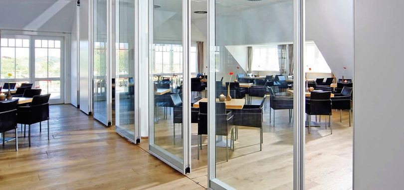 Office sliding partitions glass acoustic offices