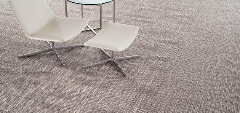 Reception Carpet Plain Gray