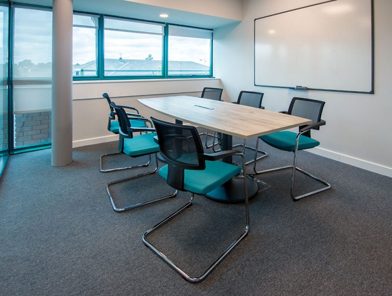 Executive meeting board room at Oneview office in Dublin