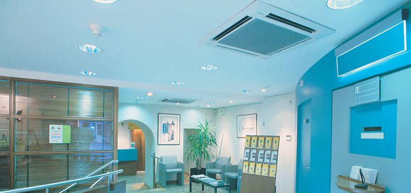 Ventilation for office