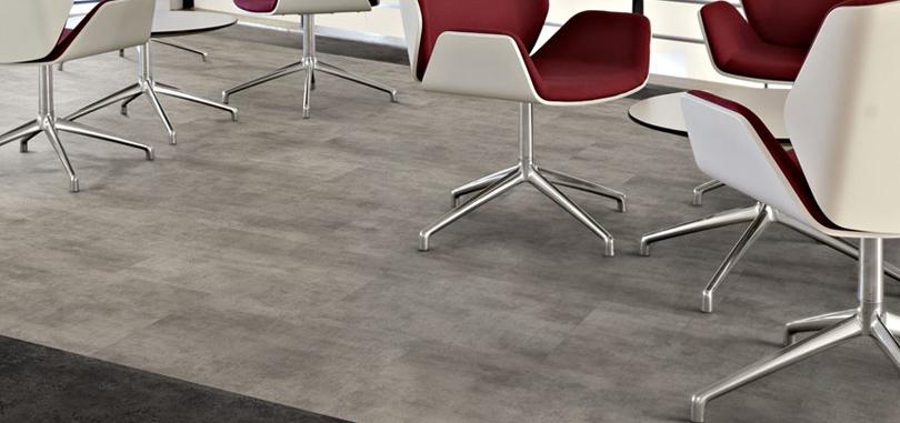 Vinyl Flooring Grey Flooring for office rooms