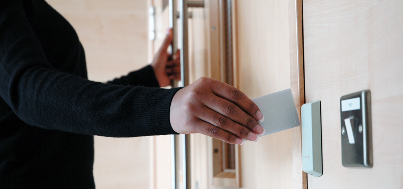 access control card swipe