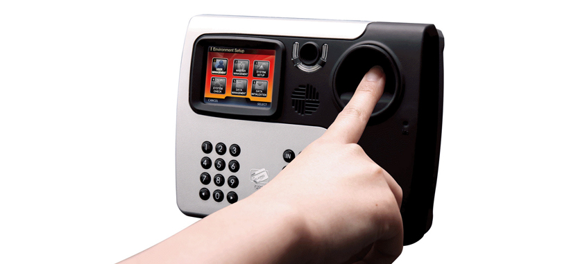 access control finger scan
