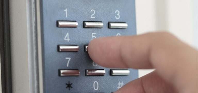 access control number keypad