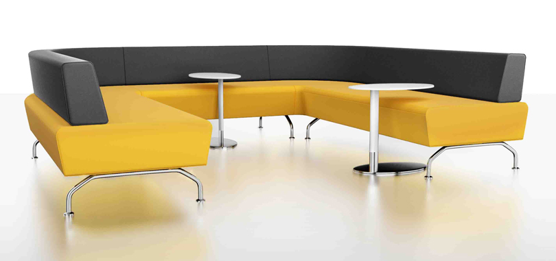 breakout furniture soft seating yellow grey