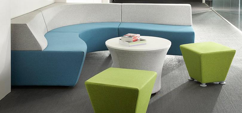 breakout furniture white blue