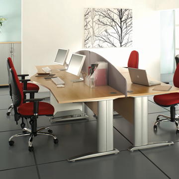 office desk solutions. BUDGET OFFICE DESKS. Office Desking Solutions Desk E