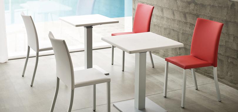 Canteen Breakout Seating iin plastic moulding