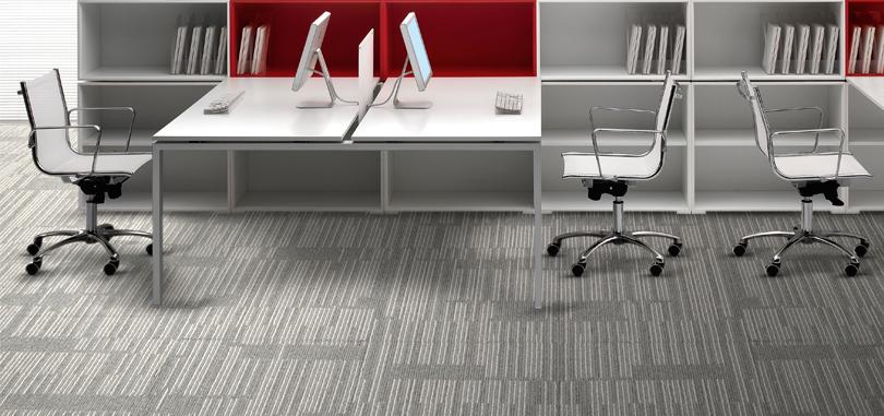 Carpet Tiles in grey colour