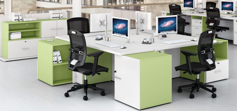 Ergonomic Office Seating with gas lift and armrest