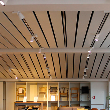 Linear Office Ceilings