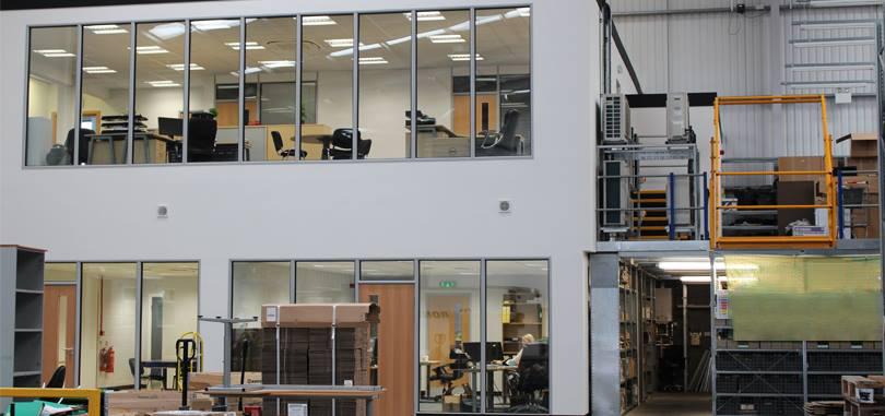 mezzanine floors space maximizer office