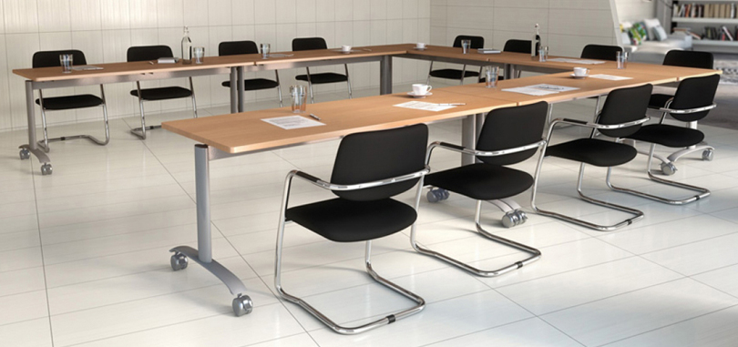 office conference rooms with expandable tables