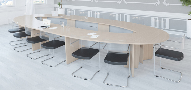 office conference rooms with glass chairs