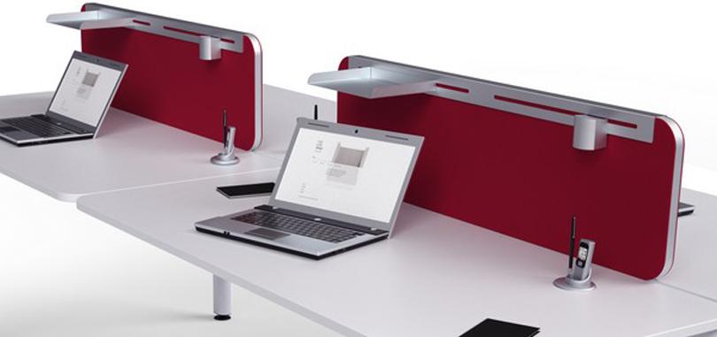 office desk accessories cable management basket under desk