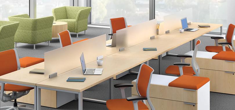 office desk screens forsted glazed panel