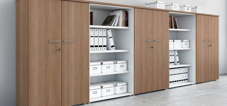 office-storage-furniture-dark-brown-bookcase