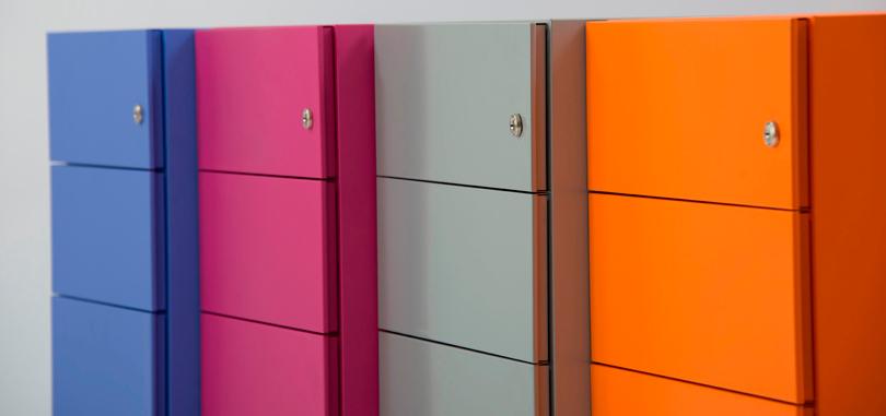 Personal Storage multi coloured locker