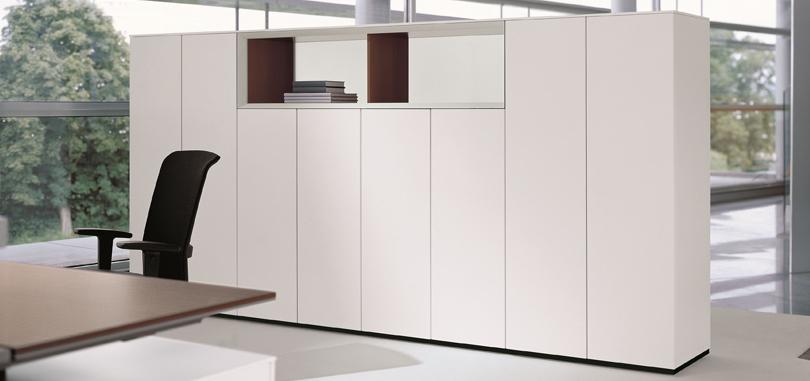 system storage cupboard in white