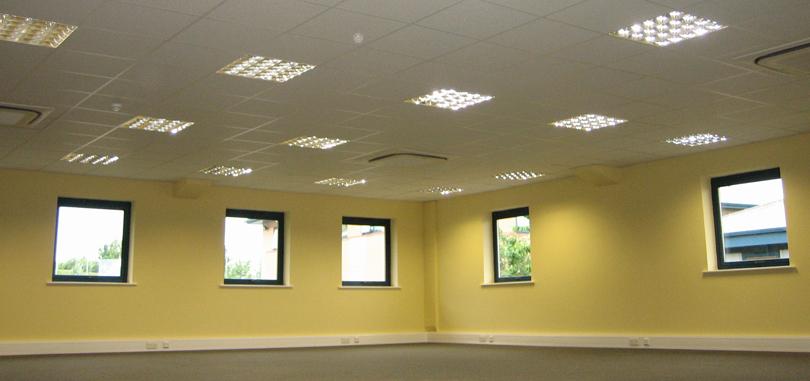 temperature control air conditioned office